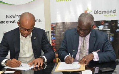 African Guarantee Fund Partners Diamond Bank To Support Small Businesses In West Africa
