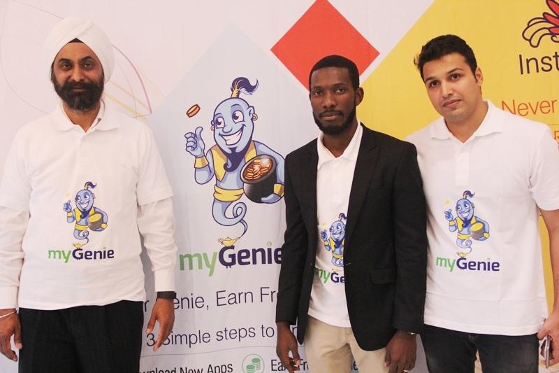 launch of MyGenie App