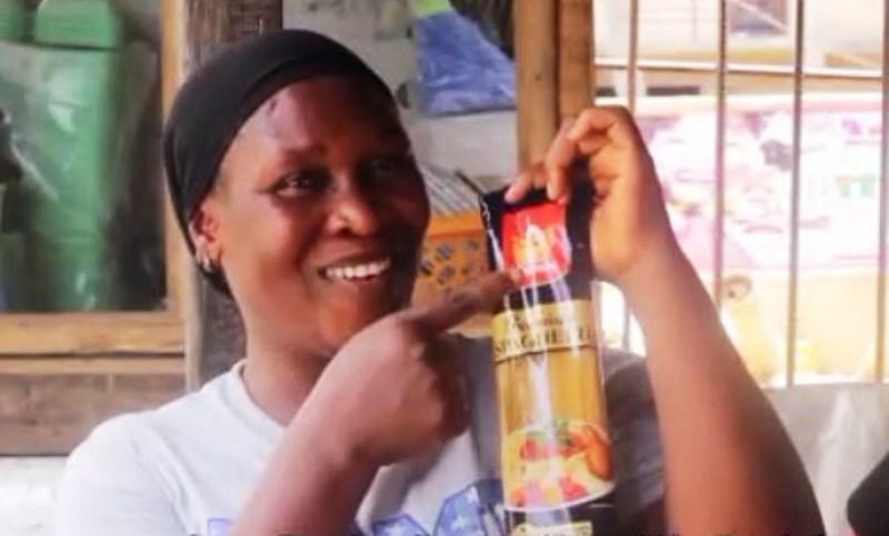 Mrs. Ronke Oshineye, a food vendor.