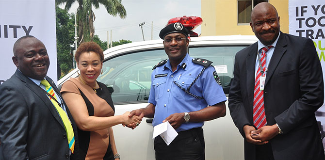 Diamond Bank Donates Vehicle, Communication Gadgets to the Nigeria Police