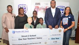 Stanbic IBTC Excites School with One Year Teachers' Salary