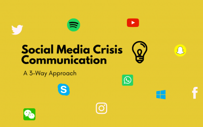 3 Ways To Deploy Social Media In Crisis Communications