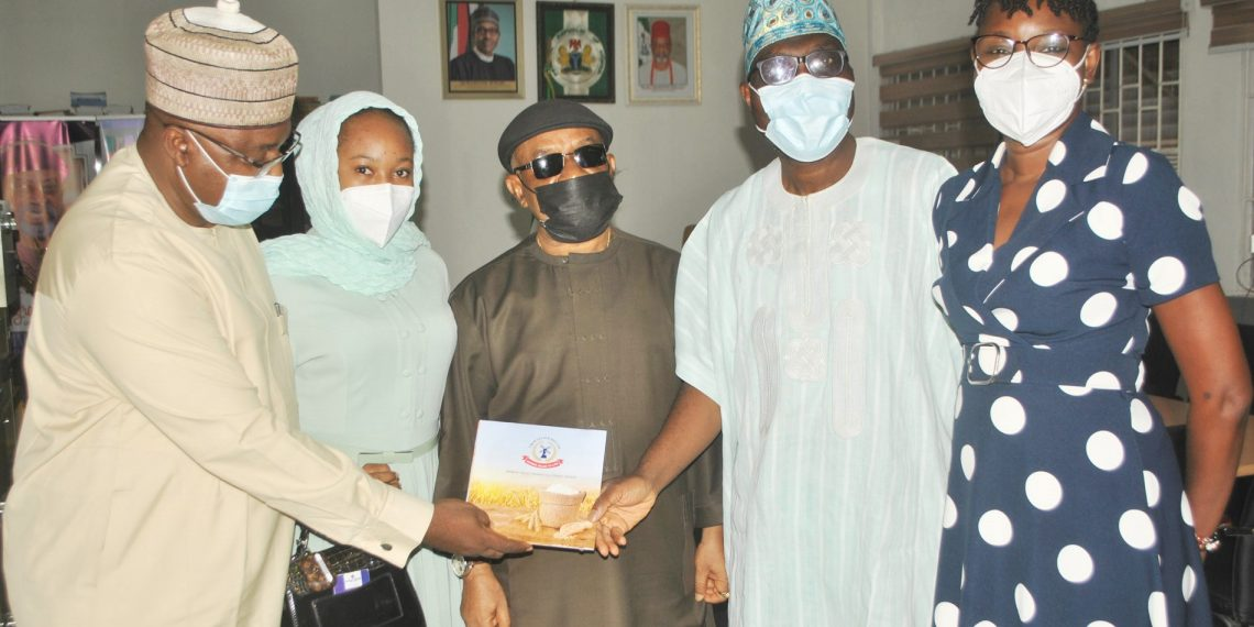 CFM's visit to the Minister of Labour and Employment in Abuja